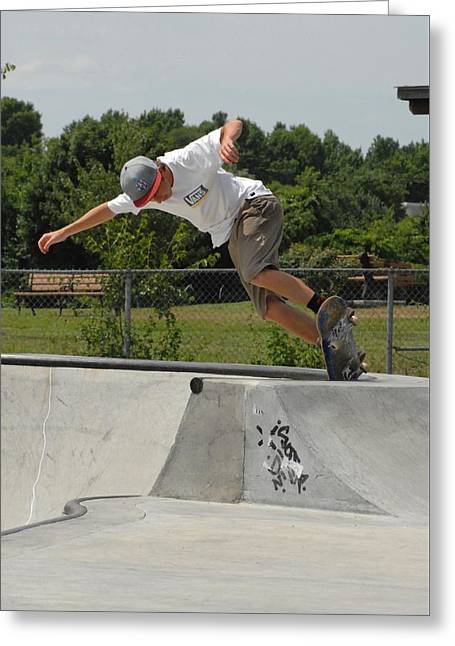 Skateboarding 16 Greeting Card