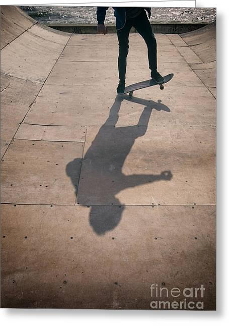 Skater Boy 002 Greeting Card