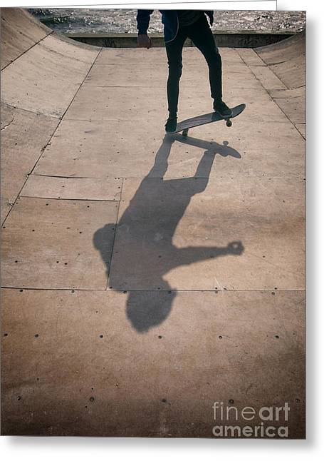Skater Boy 002 Greeting Card
