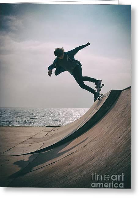 Skater Boy 007 Greeting Card