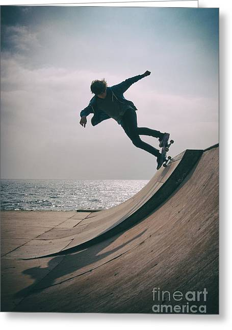 Skater Boy 007 Greeting Card