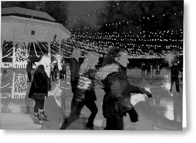 Skaters Greeting Card