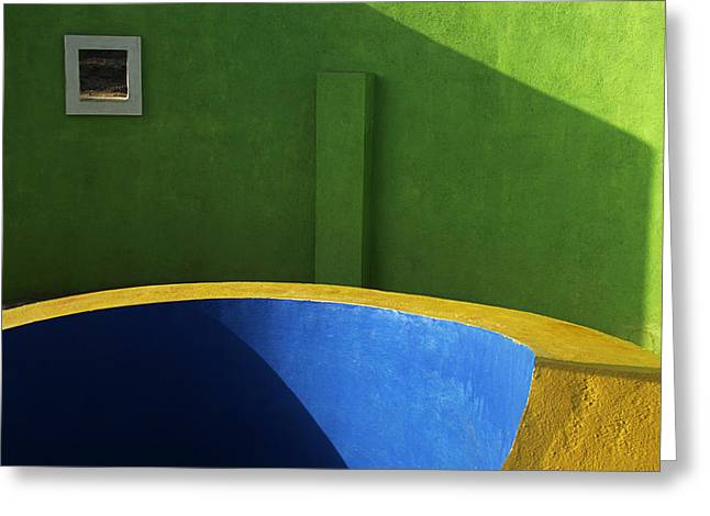 Skc 0305 Fundamental Colors Greeting Card
