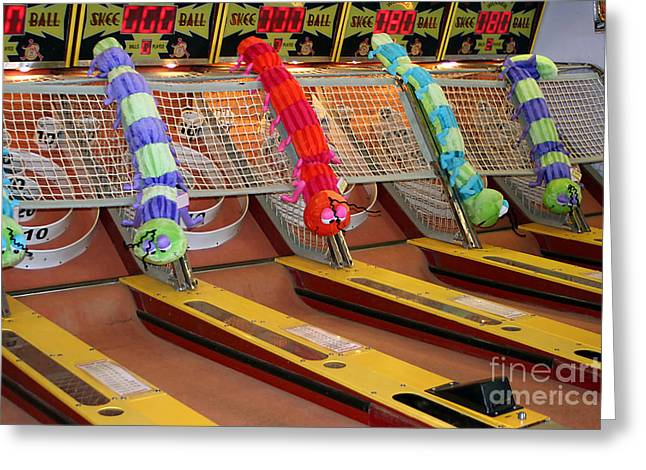 Ball point greeting cards page 8 of 21 fine art america skee ball lanes greeting card m4hsunfo