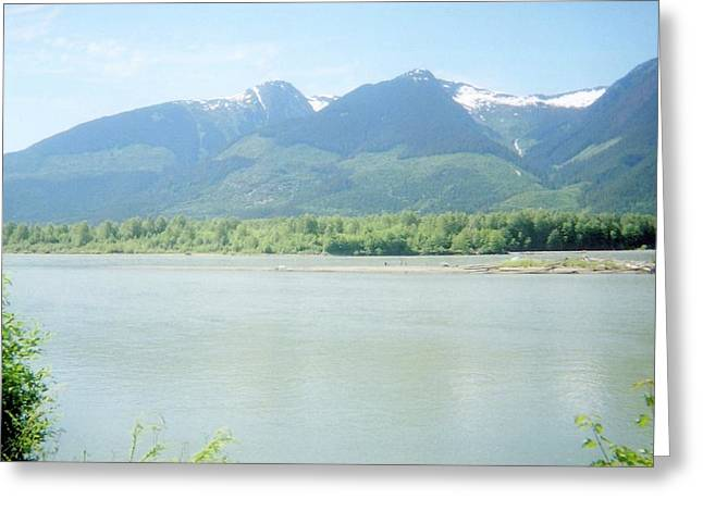 Skeena River British Columbia Greeting Card by Michael Mccormack