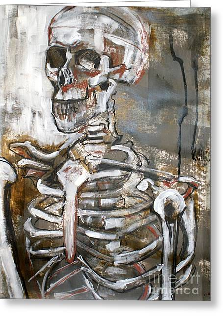 Skeleton 1 Greeting Card