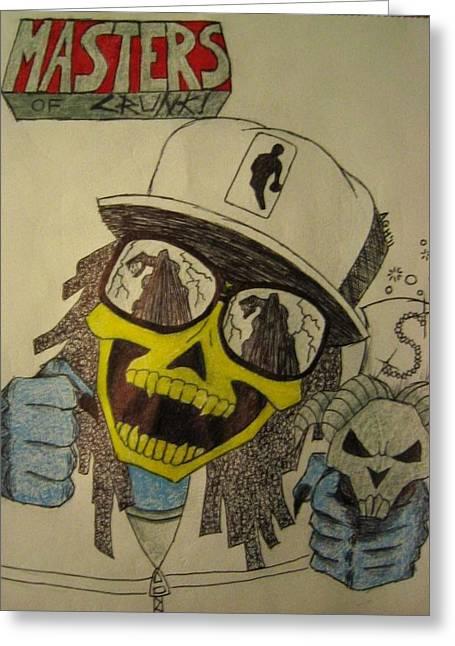 Skeletor Is Lil' Jon Greeting Card