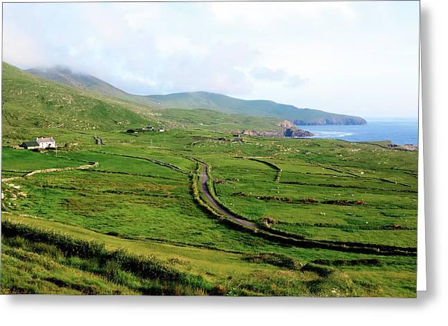 Skellig Ring - Ireland Greeting Card by Joana Kruse