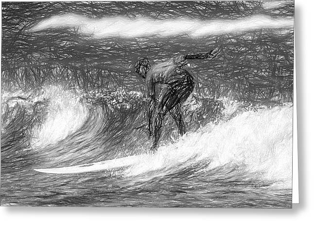 Sketch A Wave Greeting Card