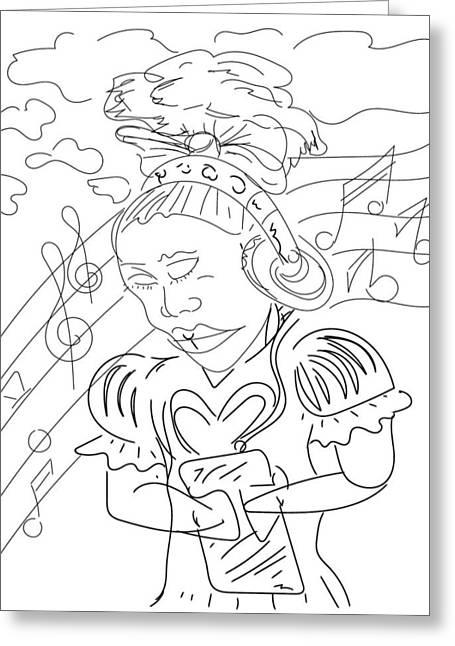 Sketch A9 Greeting Card