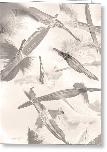 Skies Of A Feather Greeting Card