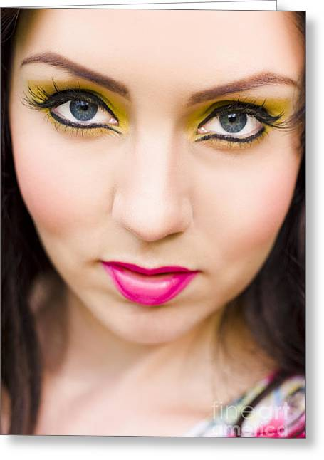 Skin Beauty And Cosmetics Greeting Card by Jorgo Photography - Wall Art Gallery