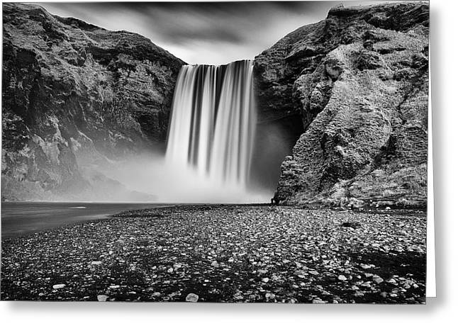 Skogafoss Greeting Card
