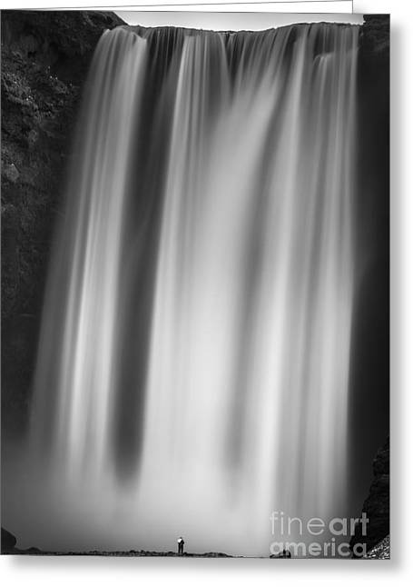 Skogarfoss Iceland Greeting Card