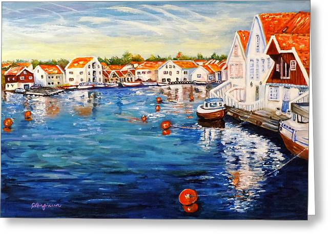 Skudeneshavn Norway Greeting Card