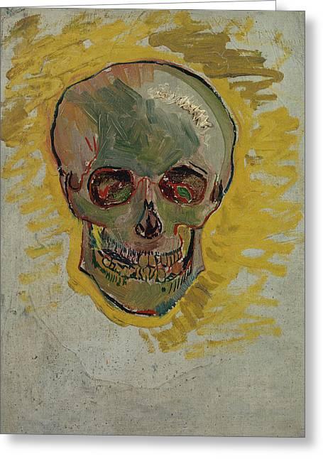 Skull-1 Greeting Card