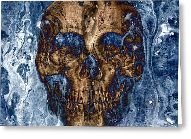 Skull Art 1 Greeting Card
