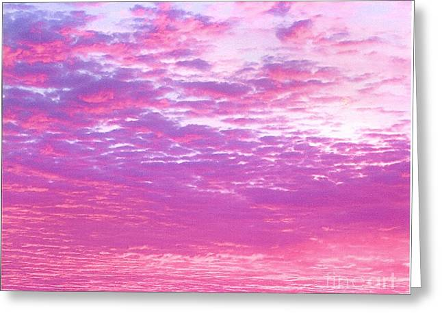 Sky 7 Greeting Card by Rod Ismay