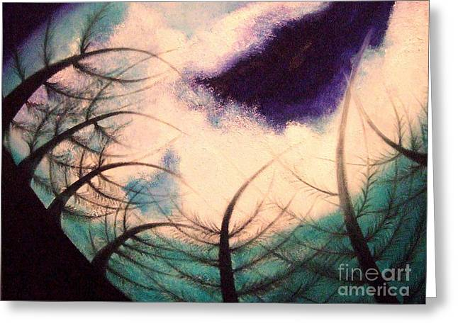 Sky And Land Symphony Greeting Card