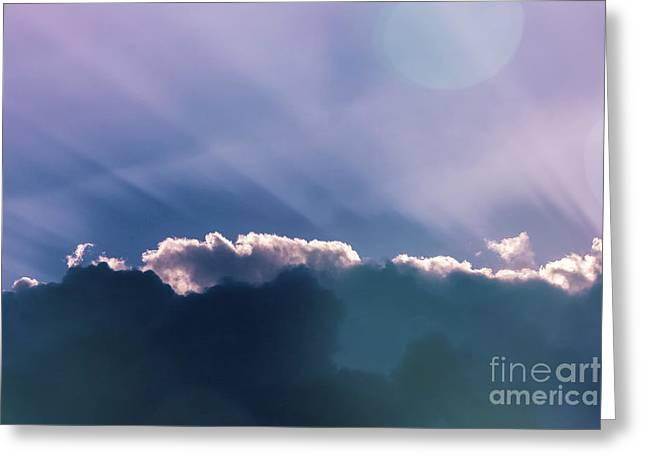 Sky Art Greeting Card