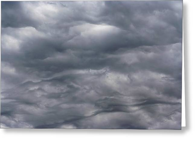 Sky Before Rain Greeting Card by Michal Boubin