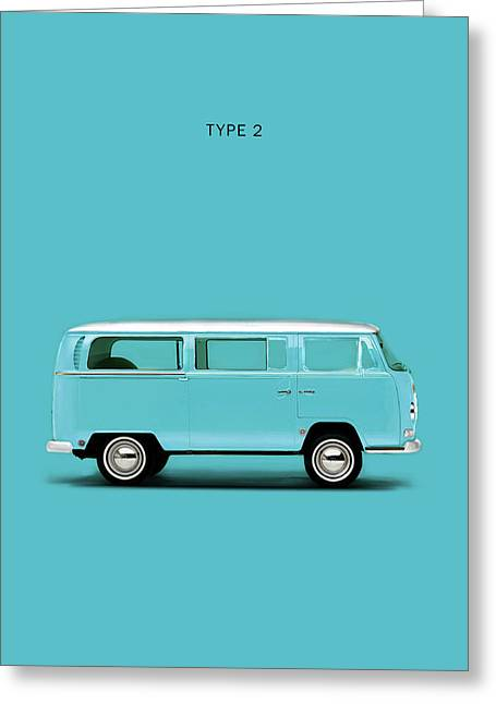 Sky Blue Type 2 Greeting Card by Mark Rogan