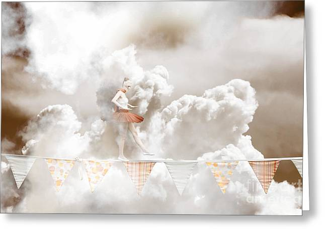 Sky Dance Greeting Card by Jorgo Photography - Wall Art Gallery