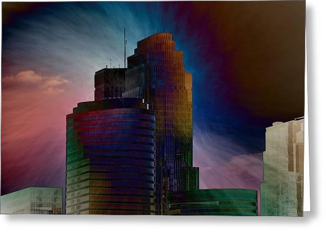 Sky Disruptors Greeting Card by John Ricker