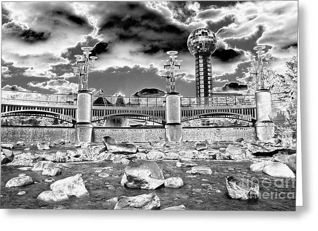 Sky Dome - Se1 Greeting Card