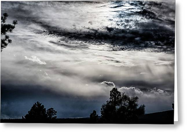 Sky Drama Greeting Card