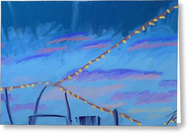 Sky Lights Greeting Card