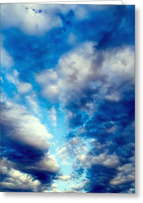 sky Greeting Card by Niki Mastromonaco