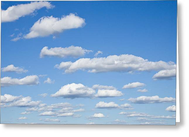 Sky Of Clouds Greeting Card