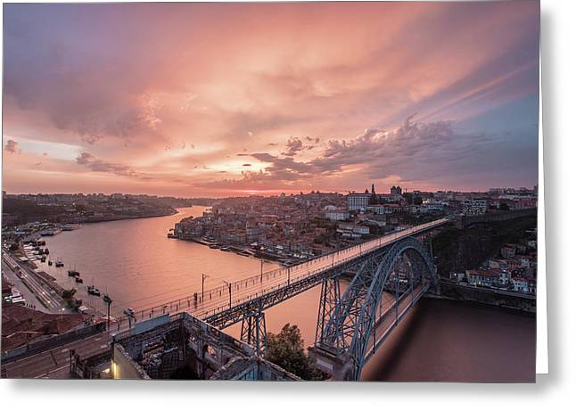 Greeting Card featuring the photograph Sky Pierce by Bruno Rosa