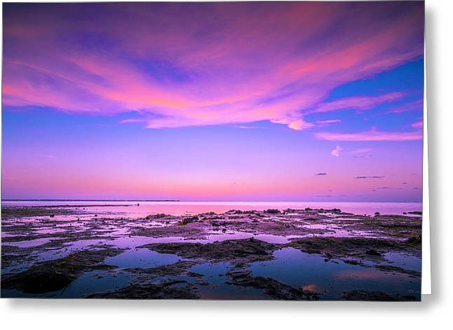 Sky Reflections Greeting Card by Marvin Spates