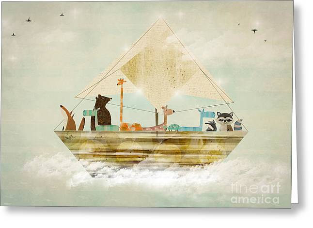 Sky Sailers Greeting Card