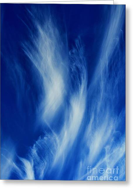 Sky Sculpting Greeting Card by Clayton Bruster