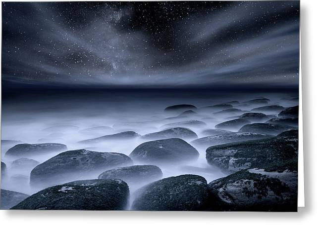 Greeting Card featuring the photograph Sky Spirits by Jorge Maia