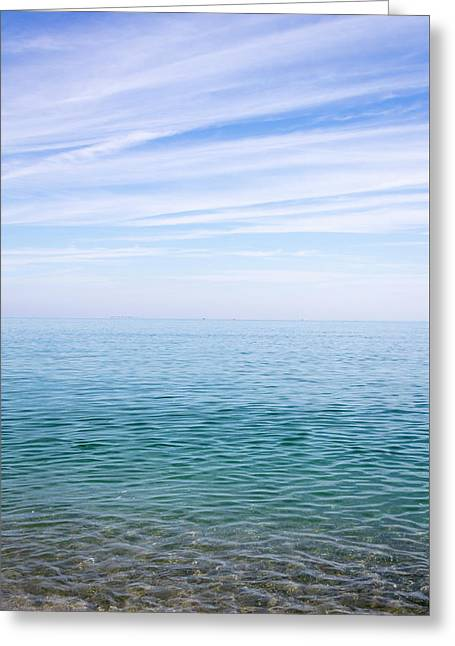 Sky To Shore Greeting Card