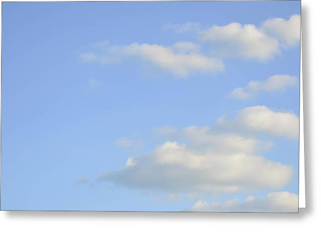 Sky Greeting Card by Wanda Krack