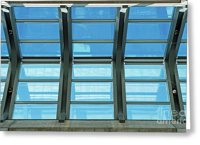 Greeting Card featuring the photograph Skylight.. by Nina Stavlund