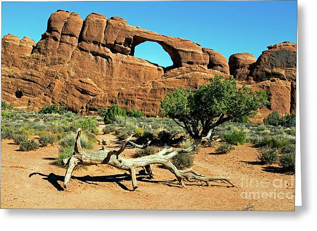Skyline Arch Greeting Card