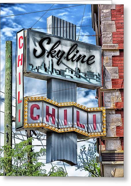 Skyline Chili #1 Greeting Card