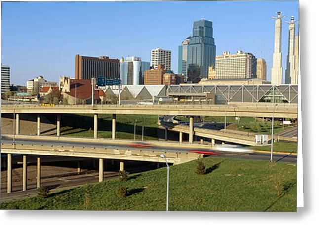 Skyline, Kansas City, Missouri Greeting Card