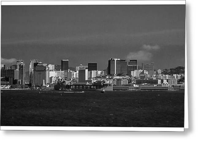 Skyline-porto-rio De Janeiro-rj Greeting Card