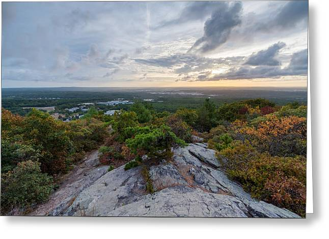 Skyline Trail Vista Greeting Card