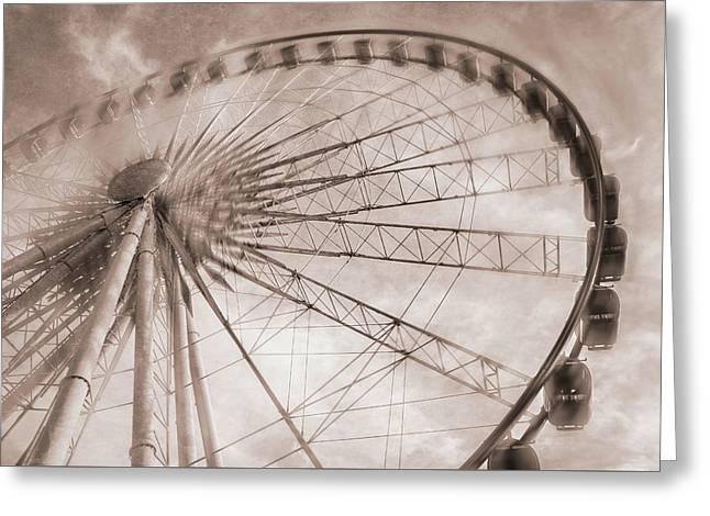 Skywheel In Niagara Falls Greeting Card