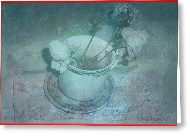 Skyworks 6 Rose Greeting Card by Friedl Aigner