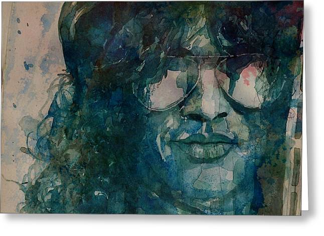 Slash  Greeting Card by Paul Lovering