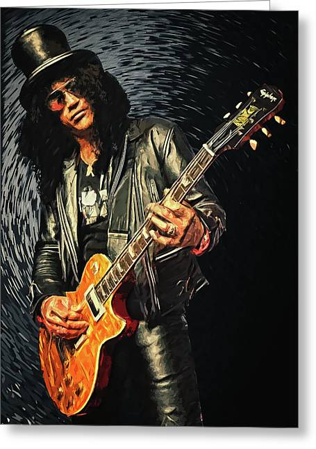 Slash Greeting Card